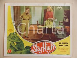 1951 SKY HIGH Mara LYNN Sid MELTON at the phone LOBBY CARD *Manifestino