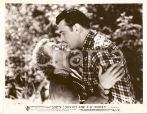 1937 GOD'S COUNTRY AND THE WOMAN Bacio tra George BRENT Beverly ROBERTS *Foto