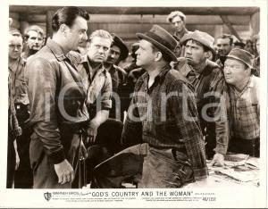 1937 GOD'S COUNTRY AND THE WOMAN George BRENT Barton MACLANE *Foto di scena