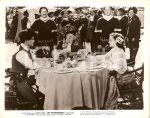 1948 THE SWORDSMAN Larry PARKS Ellen DREW George MACREADY pranzano Foto di scena