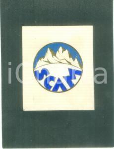 1935 ca MILANO Società Alpinistica SCAM Bozzetto DISEGNATO A MANO per medaglia