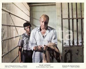 1970 ZIG ZAG George KENNEDY in prigione nel film di Richard A. COLLA Manifestino