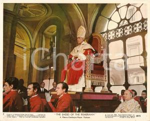 1968 SHOES OF THE FISHERMAN Anthony QUINN dressed like the POPE *Lobby card