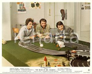 1970 MIND OF MR. SOAMES Terence STAMP plays with toy cars LOBBY CARD Manifestino