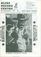 1987 AMSTERDAM BLUES FESTIVAL Clarence GATEMOUTH BROWN Notiziario concerti