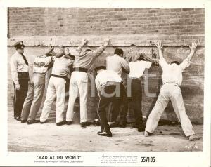 1955 MAD AT THE WORLD Polizia perquisisce truffatori Regia di Harry ESSEX *Foto