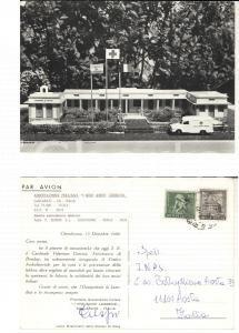 1968 GALLARATE (VA) Associazione AMICI LEBBROSI *Cartolina Ildebrando CRESPI