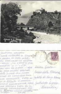 1960 CASTELVECCANA (VA) Chiesa di SANTA VERONICA *Cartolina Anna BESINI LITTA
