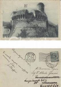 1915 SARZANA (SP) Forte Castruccio *Cartolina postale A. SCHIAFFINI FP VG
