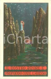 1930 ca Il nostro amore è profondo come l'abisso *Cartolina LIBERTY FP NV