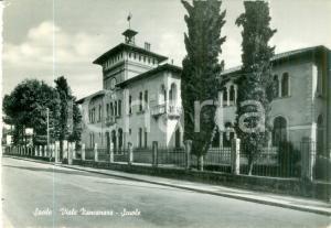1954 SACILE (PN) Facciata delle scuole in Viale ZANCANARO *Cartolina FG VG