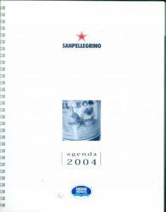2004 SAN PELLEGRINO Agenda pubblicitaria con cofanetto *Non compilata