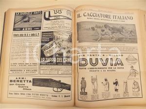 1942 IL CACCIATORE ITALIANO Rivista tecnica caccia pesca ANNATA COMPLETA Volume