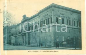 1930 CALTANISSETTA Palazzo del Governo *Cartolina postale FP VG