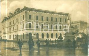1943 LECCE Soldati al Palazzo RR. Poste e Telegrafi *Cartolina FP VG