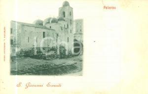 1900 ca PALERMO Chiesa di San Giovanni degli Eremiti *Cartolina postale FP NV