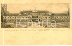 1939 TRIUGGIO (MB) Prospetto Casa Esercizi Villa Sacro Cuore TREGASIO *Cartolina