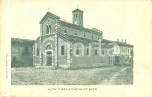1905 ca SESTO SAN GIOVANNI (MI) Nuova chiesa a CASCINA DE' GATTI Cartolina FP NV