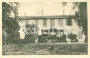 1930 ca CAPRIANO BRIANZA (MB) Facciata di Villa CASANOVA *Cartolina FP NV