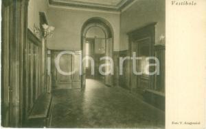 1936 MILANO Sede della Famiglia MENEGHINA in Via MERAVIGLI 7 *Cartolina FP VG