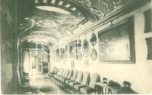 1930 ca CASTELLAZZO BUSCA (MI) Galleria di quadri di Villa ARCONATI Cartolina FP