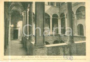 1940 ca JESI (AN) Palazzo della Signoria Corte primo piano *Cartolina FG NV