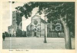 1940 ca VERONA Basilica di SAN ZENO *Cartolina ANIMATA FG NV