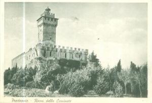 1940 ca PREDAPPIO (FC) La Rocca delle Caminate *Cartolina FG NV