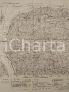 1940 ca Istituto Geografico Militare CARTA D'ITALIA - LANZO D'INTELVI *Mappa