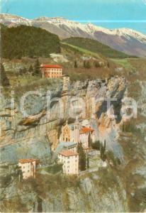 1981 CAPRINO VERONESE Santuario Madonna della Corona a SPIAZZI *Cartolina FG VG