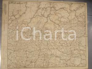 1902 SUDTIROLO - VENEZIA - CREMONA *Mappa 70x55 cm Fortunato ZOROVICH