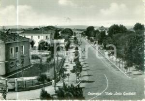 1952 CESENATICO (FC) Veduta di Viale Anita GARIBALDI *Cartolina FG VG