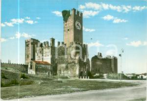 1967 VILLAFRANCA DI VERONA Veduta del castello Scaligero *Cartolina FG VG