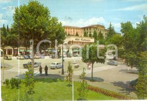 1961 CHIANCIANO TERME (SI) Hotel Continental Piazza ITALIA *Cartolina VINTAGE FG