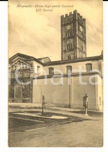1934 ALTOPASCIO (LU) Chiesa degli Antichi Cavalieri *Cartolina postale FP NV