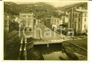 1940 BONASSOLA (SP) Copertura del torrente SAN GIORGIO *Cartolina FG VG