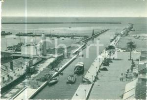 1940 ca VIAREGGIO (LU) Barca da trasporto lungo il canale del molo *Cartolina FP
