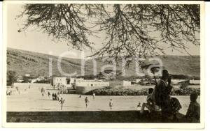 1935 ca AOI DIRE DAUA (ETIOPIA) Quartiere indigeno *Cartolina postale FP NV