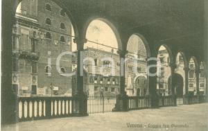 1914 VERONA Veduta dalla Loggia Fra Giocondo *Cartolina FP VG