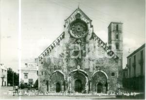 1963 RUVO DI PUGLIA (BA) La Cattedrale romanica *Cartolina postale FG VG