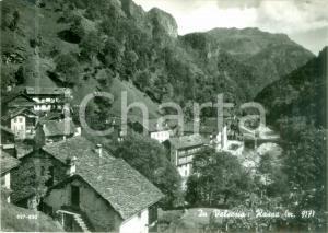 1960 ROSSA (VC) Panorama del paese in VALSESIA *Cartolina postale FG VG