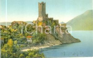 1930 ca MALCESINE (VR) Veduta del castello SCALIGERO *Cartolina FP NV