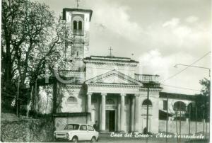 1960 ca CASA DEL BOSCO (VC) Chiesa parrocchiale Santa Caterina *Cartolina FG NV