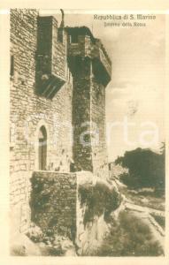 1930 ca REPUBBLICA DI SAN MARINO Interno della Rocca *Cartolina FP NV