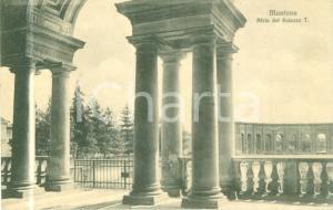 1911 MANTOVA L'atrio del Palazzo TE *Cartolina postale FP VG