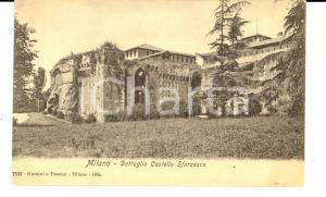 1915 ca MILANO Dettaglio del Castello SFORZESCO *Cartolina postale FP NV