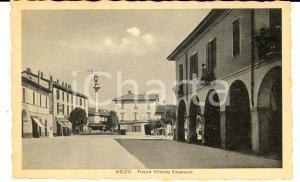 1942 MELZO (MI) Piazza Vittorio Emanuele *Cartolina postale FP NV