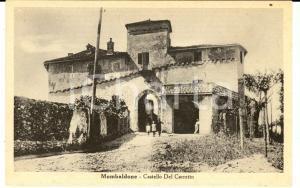 1915 ca MOMBALDONE (AT) Castello DEL CARRETTO *Cartolina ANIMATA bambini FP