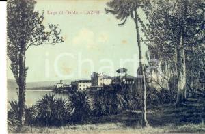 1915 ca LAZISE (VR) Veduta del Lago di GARDA *Cartolina postale FP NV