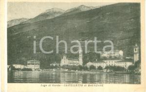1954 BRENZONE SUL GARDA (VR) Panorama di CASTELLETTO *Cartolina FP VG